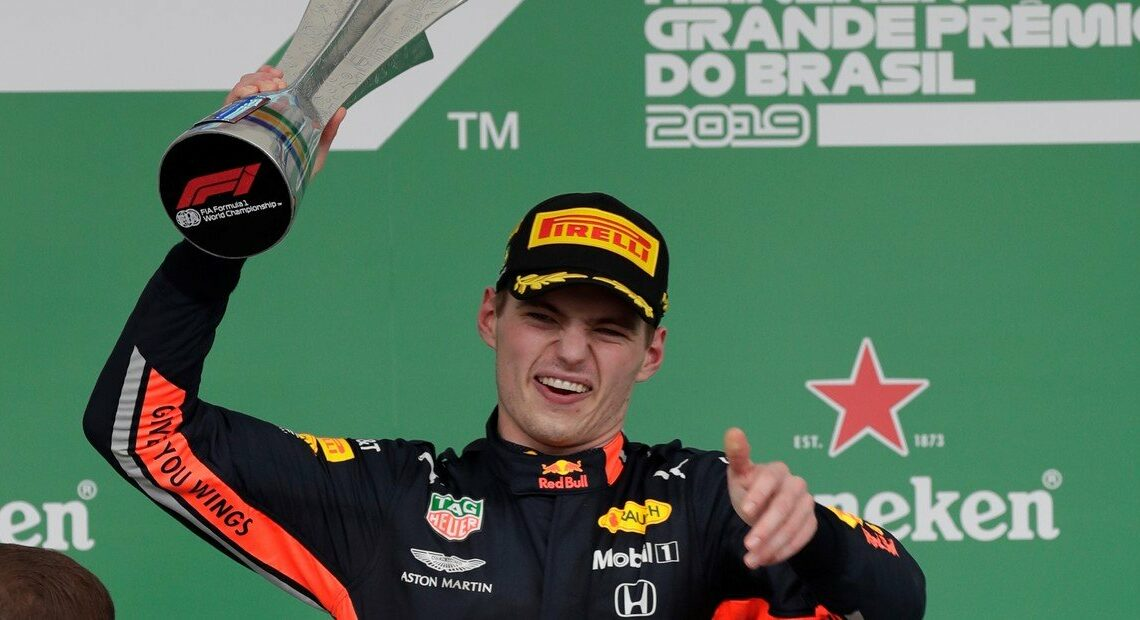 Max Verstappen gana el GP de Brasil