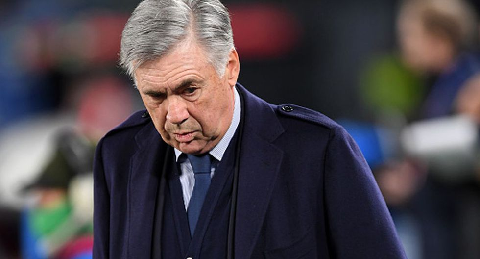 Ancelotti no es más el técnico del Nápoli
