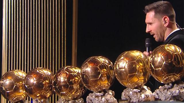 Messi es el ganador del Balón de oro