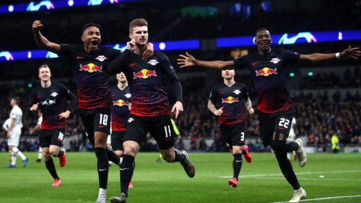 El Leipzig sorprendió al Tottenham de Mourinho