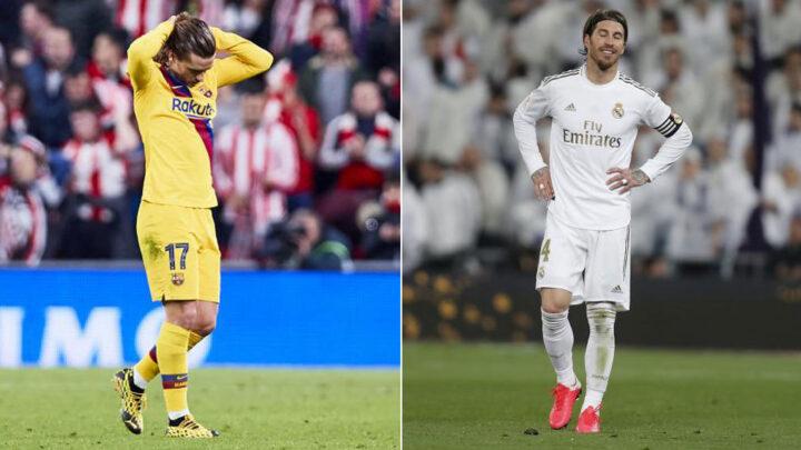 Real Madrid y Barcelona, eliminados de la Copa del Rey
