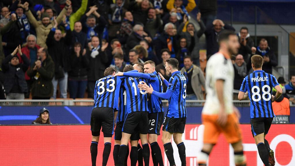 Atalanta golea al Valencia en la Champions
