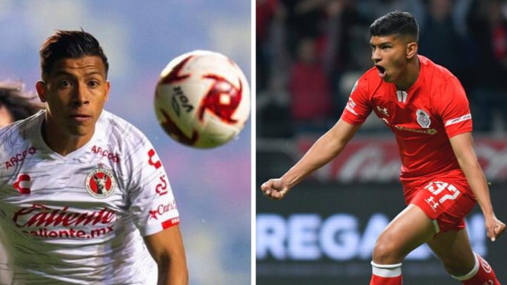 Xolos y Toluca se enfrentarán en las semifinales de la CopaMX