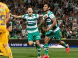 En el cierre de la jornada, Santos se llevó la victoria ante Tigres