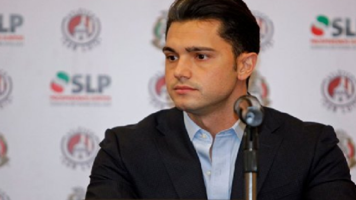 Alberto Marrero, presidente de Atlético San Luis, es el primer caso de Covid 19 en la LigaMX