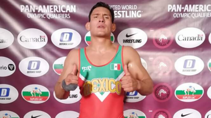Andrés Vargas, luchador queretano, consiguió su boleto a Juegos Olímpicos