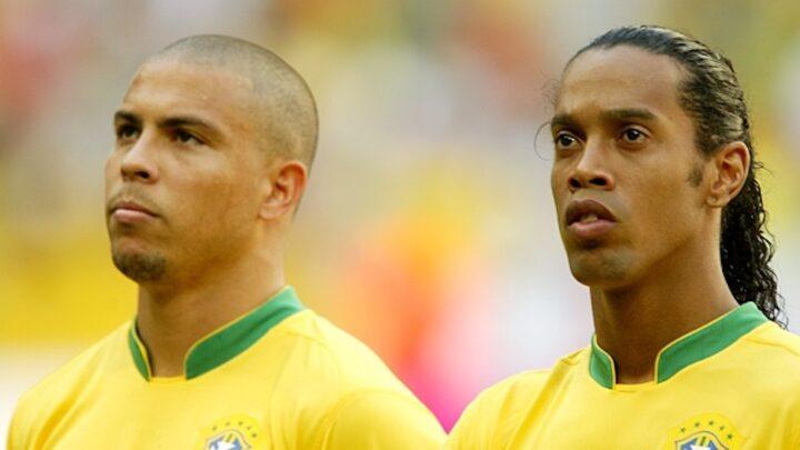 Ronaldo dedica emotivo mensaje a Dinho por su cumpleaños