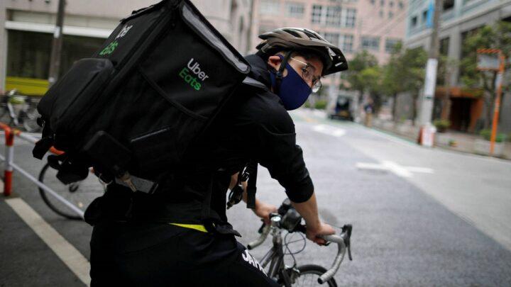 Ryo Miyake, el medallista olímpico que trabaja como repartidor de comida a domicilio en Tokio
