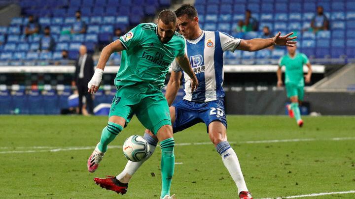 El Real Madrid derrotó al Espanyol y se mantiene puntero en La Liga