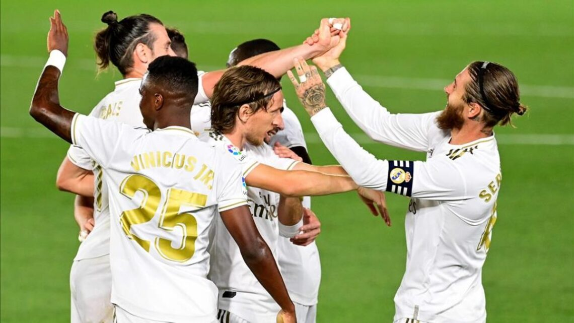El Real Madrid se impuso al Mallorca
