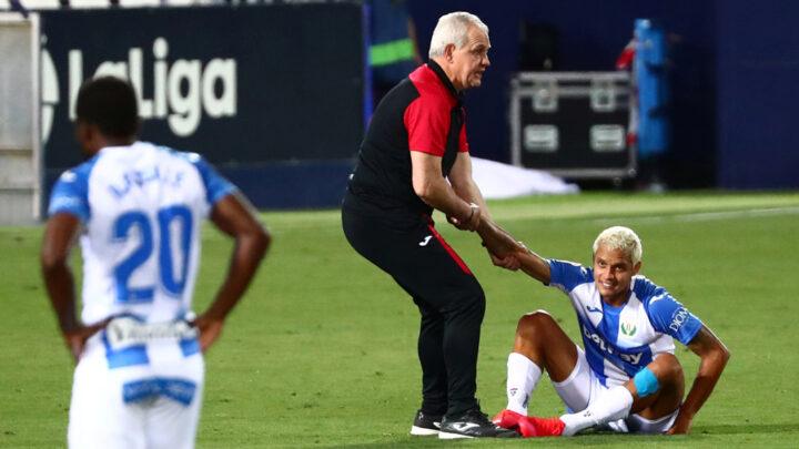 """El Leganés del """"Vasco"""" Aguirre descendió tras empatar con el Real Madrid"""