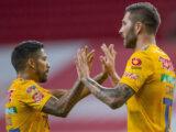 Gignac le da el triunfo a Tigres ante Chivas en la Copa GNP