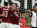 Duro tropiezo para la Juve; cayó ante el Milán 4-2