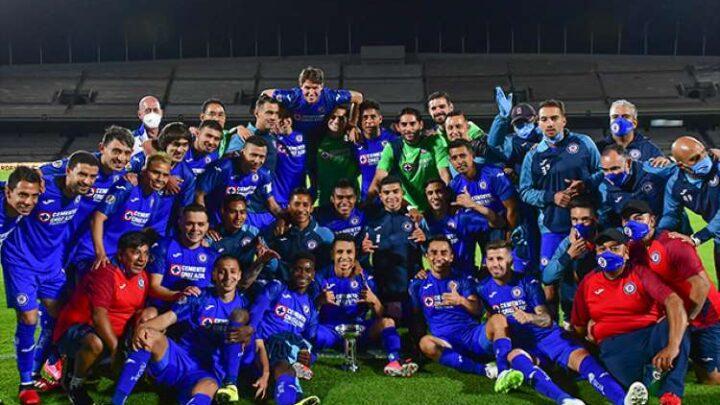 Cruz Azul es el campeón de la Copa GNP