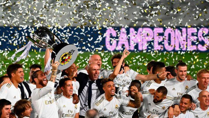 El Real Madrid es campeón de España
