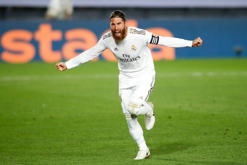 Con gol de Ramos, el Real Madrid se impuso al Getafe