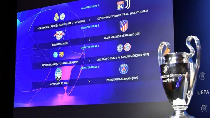 ¡Así serán los cruces de Champions League!