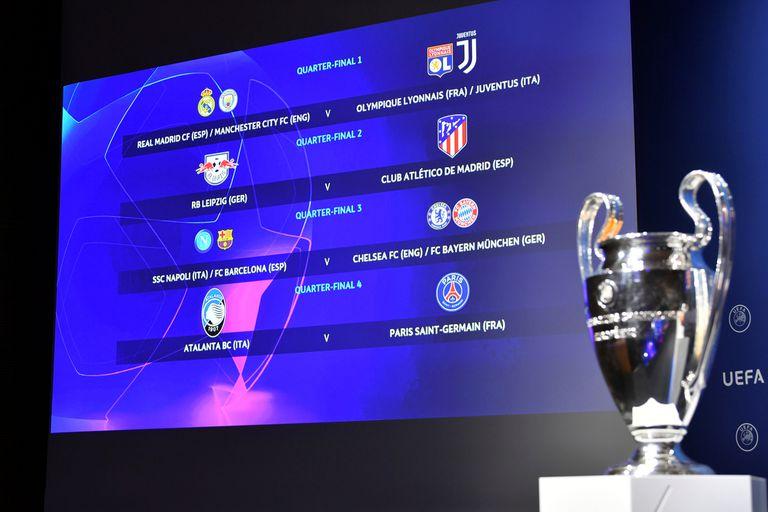 ¡Así serán cruces de Champions League!