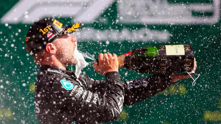 Valterri Bottas ganó el GP de Austria