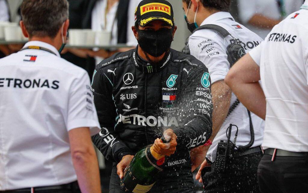 Hamilton ganó el GP de Estiria; Sergio Pérez elegido el piloto del día