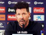Simeone: «Al Real Madrid le marcan más penales porque ataca más»