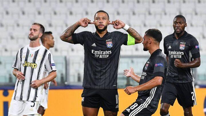 El Olympique de Lyon sorprende a la Juventus
