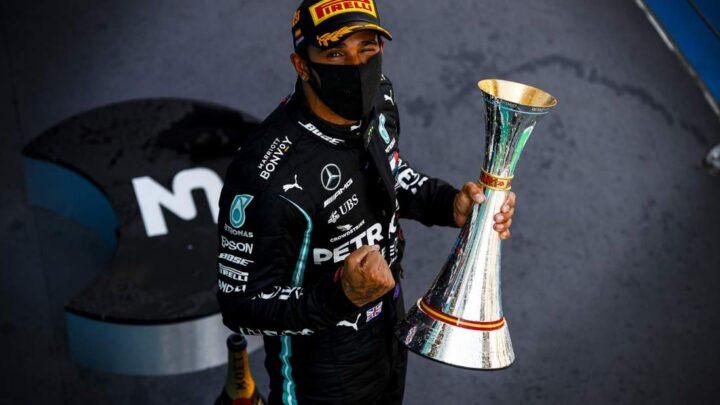 Hamilton ganó el Gran Premio de España