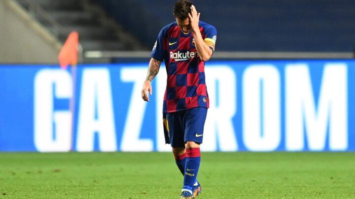 Messi avisó al Barcelona que quiere salir del club catalán