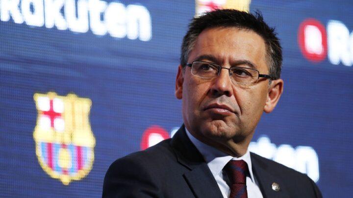 Bartomeu dejaría al Barcelona para que Messi se quede