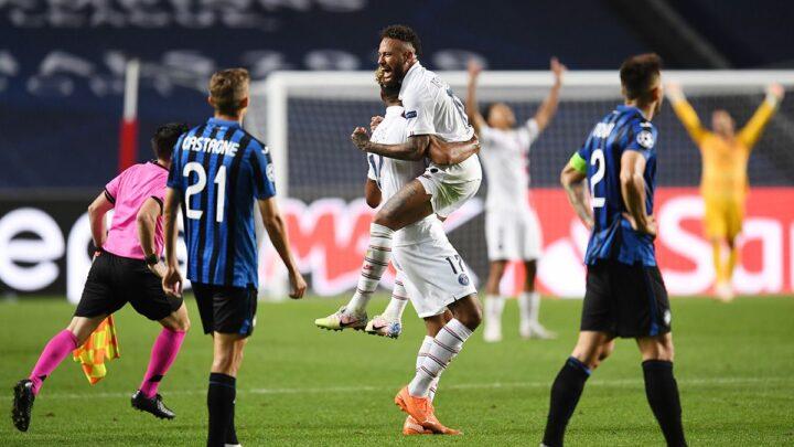 El PSG terminó con el sueño del Atalanta