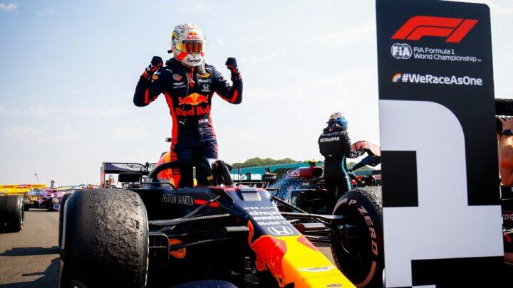 Max Verstappen conquisto el Gran Premio 70 aniversario