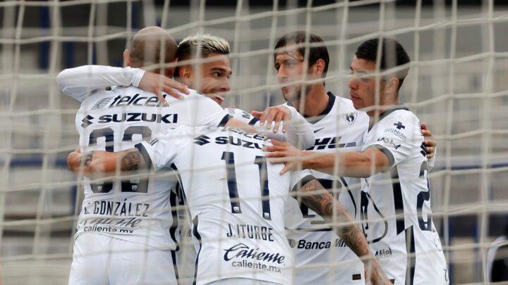 Sin problemas, Pumas goleó a Atlético de San Luis