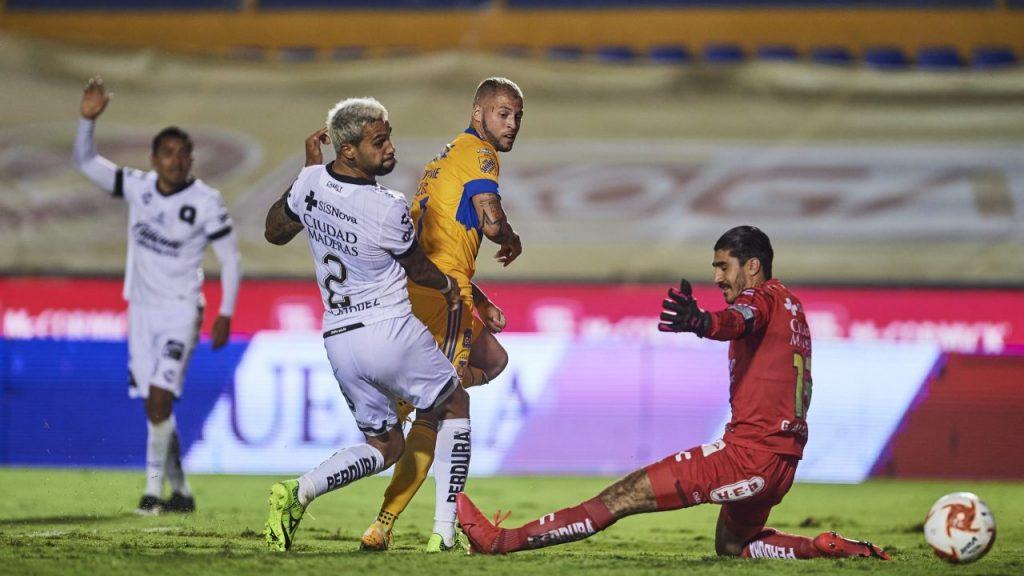 Tigres derrotó 3-0 a Querétaro