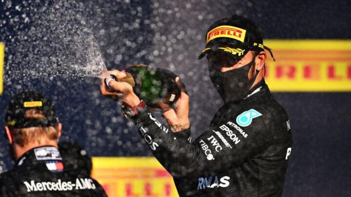 Lewis Hamilton se quedó con el triunfo en en GP de la Toscana