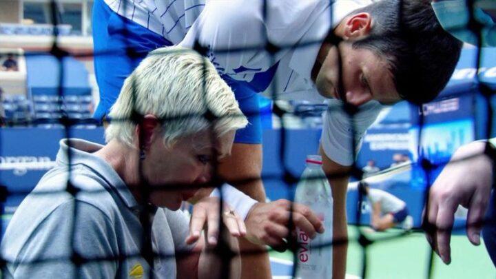 Jueza de línea golpeada por una pelota de Novak Djokovic, recibe amenazas de muerte en las redes sociales