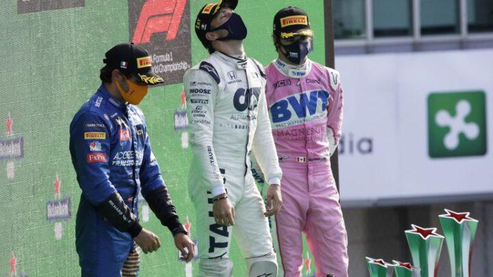 Pierre Gasly ganó el Gran Premio de Italia