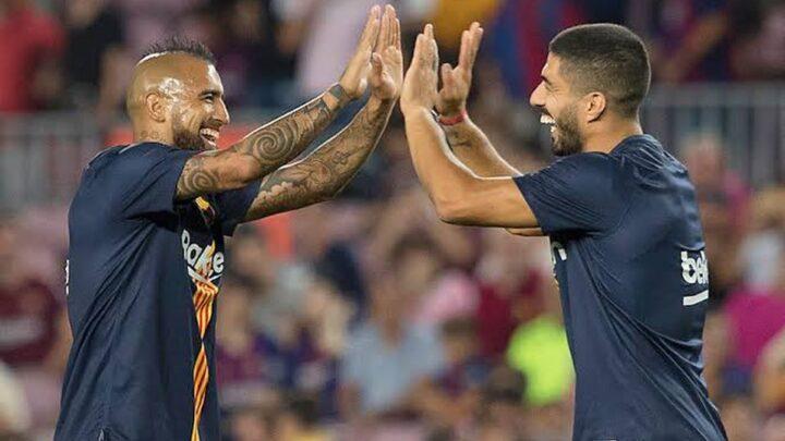 Luis Suárez y Arturo Vidal, descartados por Koeman