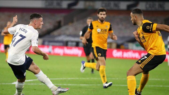 El Manchester City derrotó 1-3 a Raúl Jiménez y los Wolves