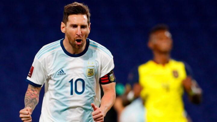 Argentina ganó 1-0 a Ecuador