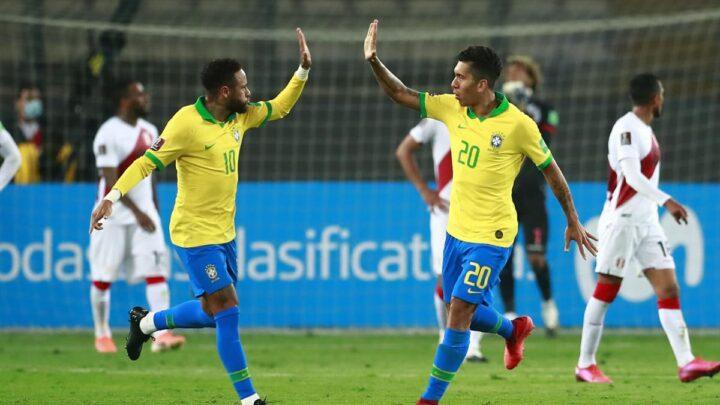 Brasil ganó y junto con Argentina, suma seis puntos en las Eliminatorias de Conmebol