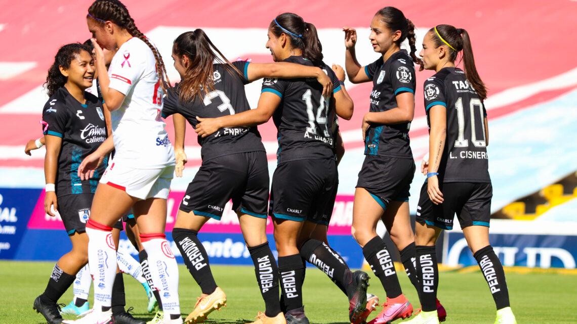 Querétaro femenil derrotó por la mínima a Toluca femenil