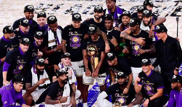 Lebron y Los Lakers consiguieron el campeonato de la NBA
