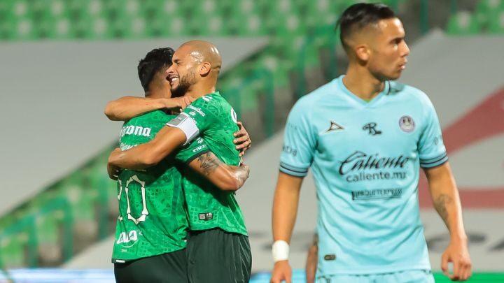 Santos goleó a Mazatlán