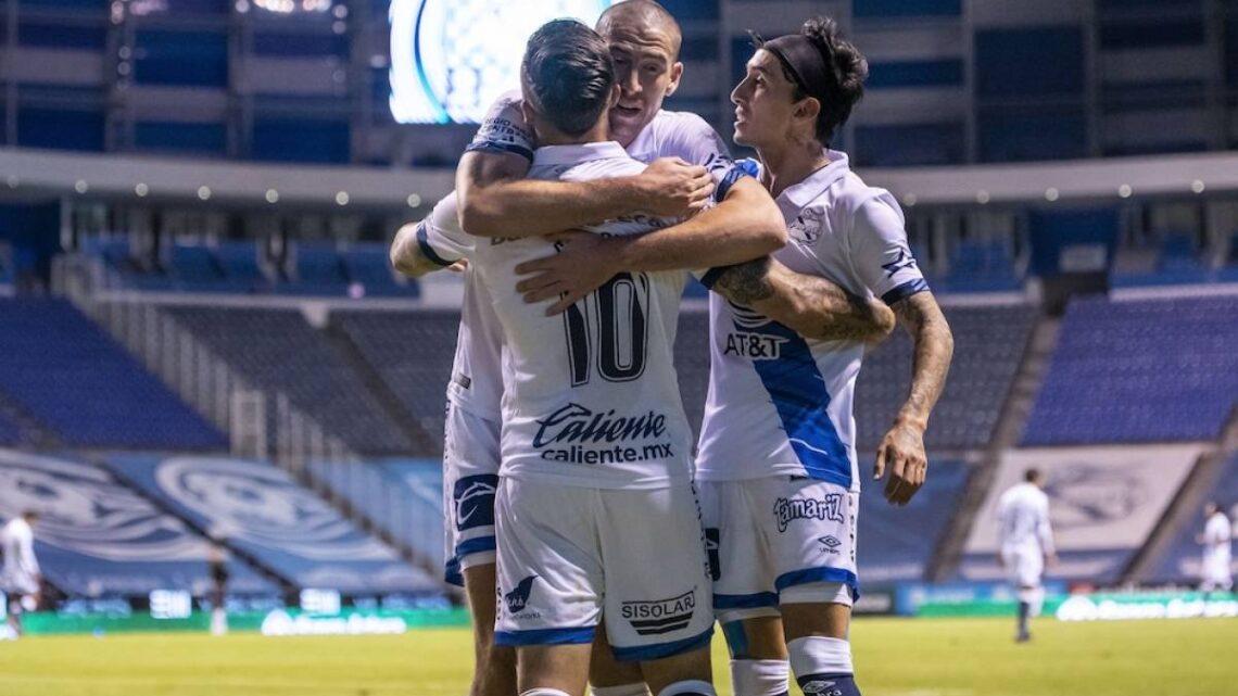 Puebla ganó 2-1 a León en el inicio de la Liguilla