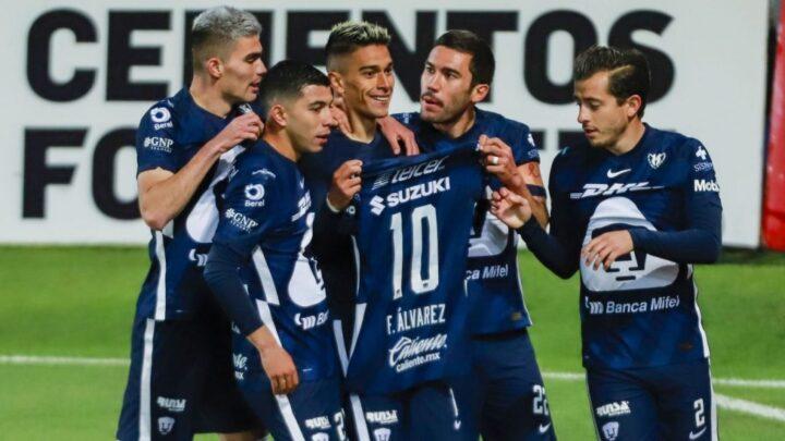 Favio Álvarez le dio la ventaja a Pumas ante Pachuca