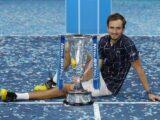 Daniil Medvedev es campeón del ATP Finals