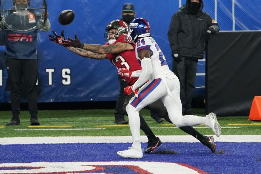 Tom Brady y Tampa derrotaron a Los Giants en el Monday Night