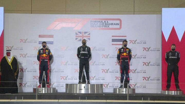 Hamiltón ganó el Gran Premio de Bahrein