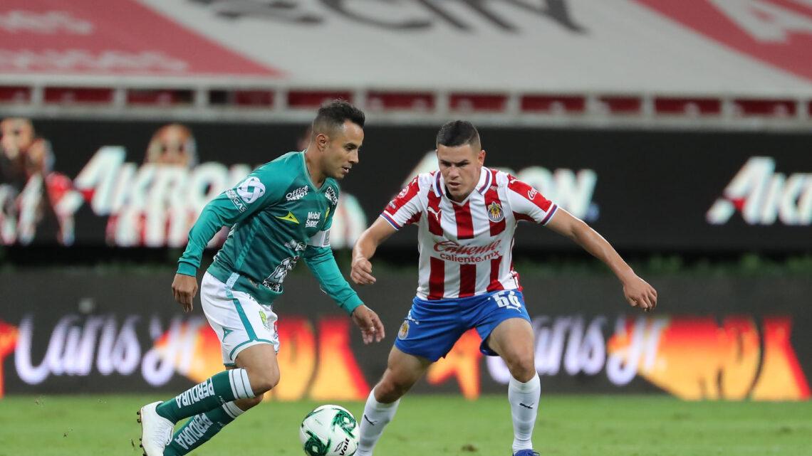 Chivas y León igualaron a uno en el primer partido de las Semifinales del Guard1anes 2020