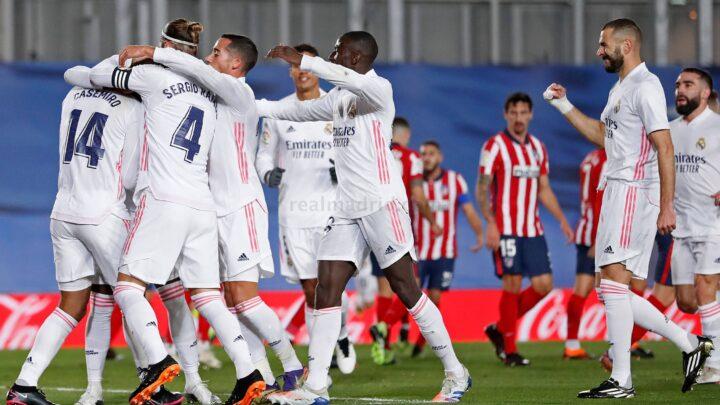 Real Madrid derrotó 2-0 al Atlético de Madrid